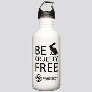 Be Cruelty-Free Sports Stainless Water Bottle 1.0l