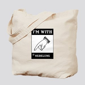 I'm With The Nebelung Tote Bag