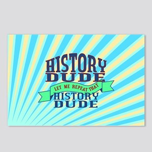 History Dude Postcards (Package of 8)