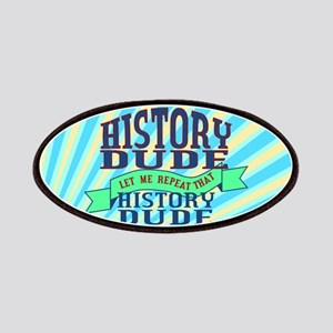 History Dude Patches