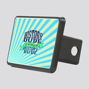 History Dude Rectangular Hitch Cover