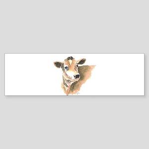cow face 2 Bumper Sticker
