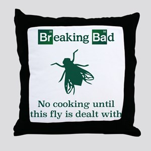 Breaking Bad fly Throw Pillow