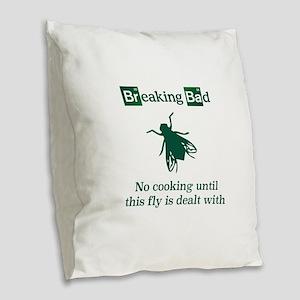 Breaking Bad fly Burlap Throw Pillow