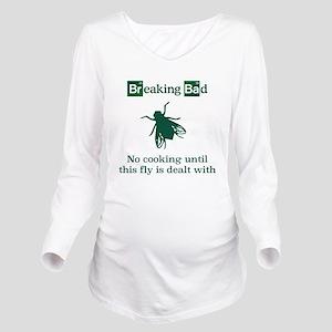 Breaking Bad fly Long Sleeve Maternity T-Shirt
