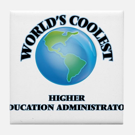 Higher Education Administrator Tile Coaster