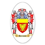 Harisson Sticker (Oval 50 pk)