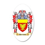 Harisson 20x12 Oval Wall Decal