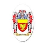 Harisson 35x21 Oval Wall Decal
