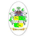Hargroves Sticker (Oval 50 pk)