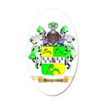Hargreaves Oval Car Magnet