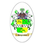 Hargreaves Sticker (Oval 10 pk)