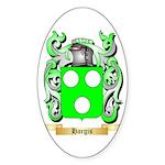 Hargis Sticker (Oval 50 pk)