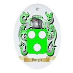 Hargis Ornament (Oval)