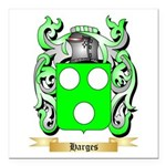 Harges Square Car Magnet 3