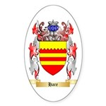 Hare Sticker (Oval 10 pk)