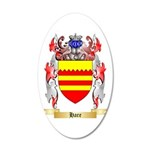 Hare 20x12 Oval Wall Decal