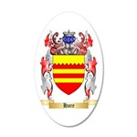Hare 35x21 Oval Wall Decal