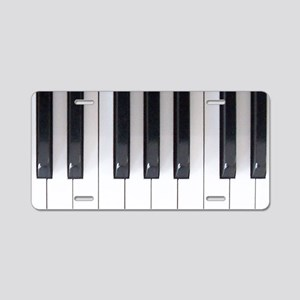 Keyboard 7 Aluminum License Plate