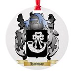 Hardway Round Ornament