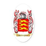 Hardingham Oval Car Magnet
