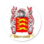 Hardingham Round Car Magnet