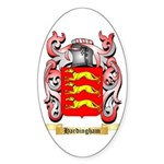 Hardingham Sticker (Oval 50 pk)