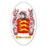 Hardinge Sticker (Oval)
