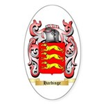Hardinge Sticker (Oval 50 pk)