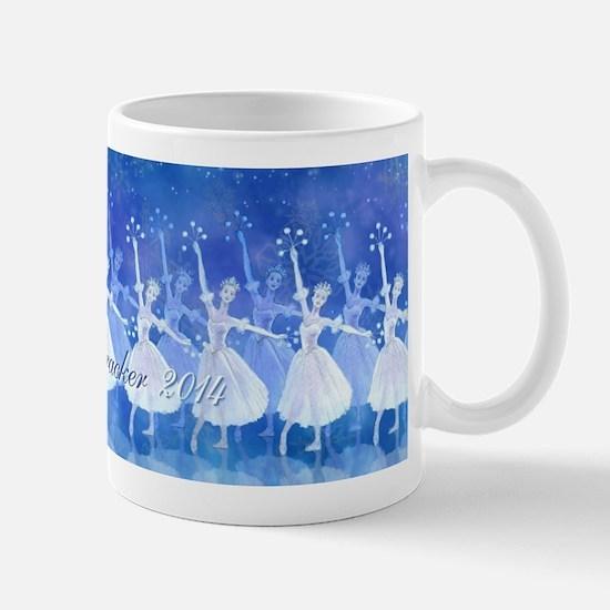 Damce Of The Snowflakes Nutcracker 2014 Mug Mugs