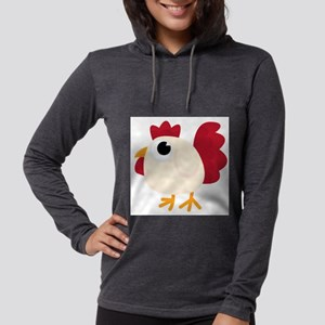 Funny White Chicken Long Sleeve T-Shirt