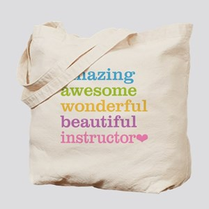 Awesome Instructor Tote Bag