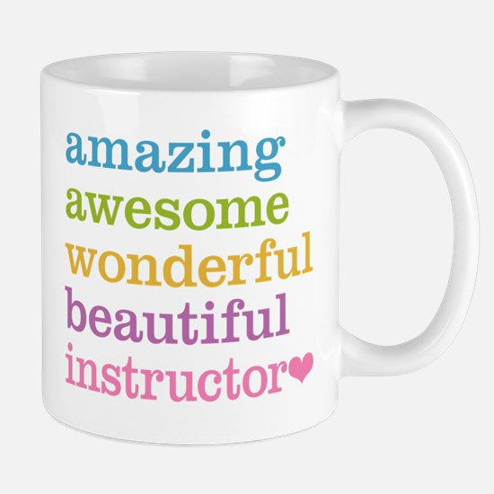 Awesome Instructor Mug