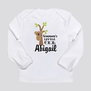 Personalized Granmom gift for Grandchild Long Slee