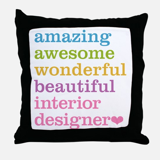 Interior Designer Throw Pillow