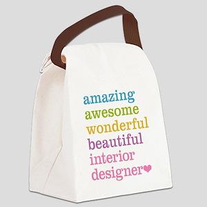 Interior Designer Canvas Lunch Bag