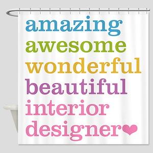 Interior Designer Shower Curtain