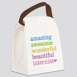 Awesome Internist Canvas Lunch Bag