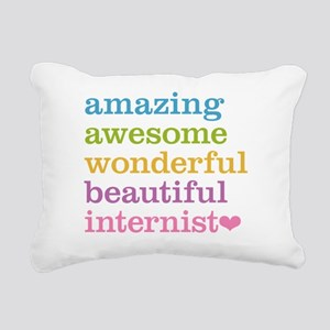 Awesome Internist Rectangular Canvas Pillow