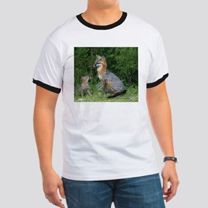 MOTHER RED FOX AND BABY T-Shirt
