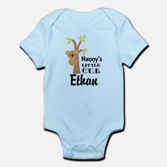 Personalized Nanny gift for Grandchild Body Suit