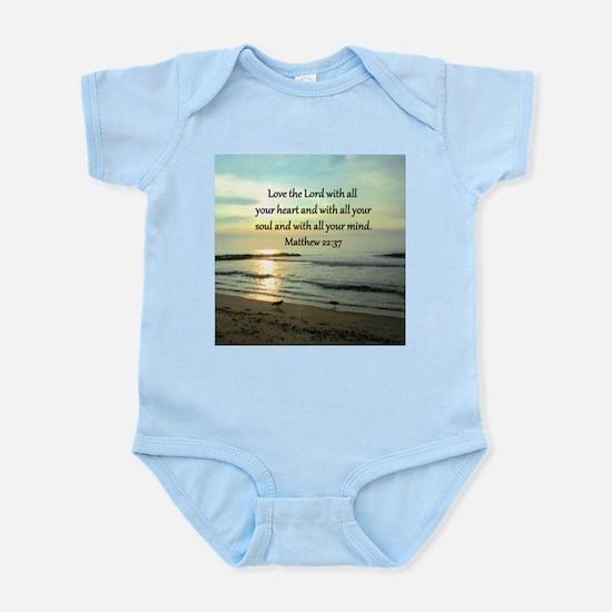 MATTHEW 22:37 Infant Bodysuit
