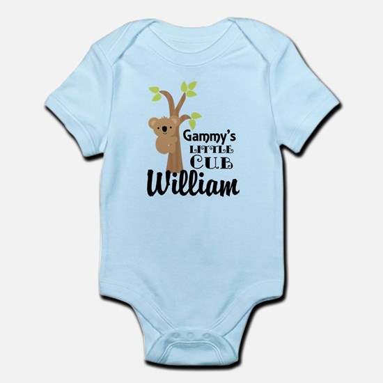 Personalized Gammy gift for Grandchild Body Suit