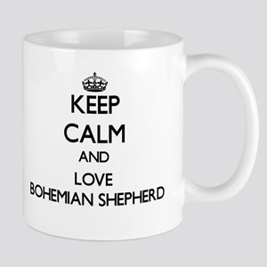 Keep calm and love Bohemian Shepherd Mugs