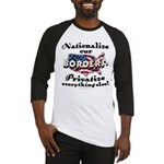 Nationalize the Borders Baseball Jersey