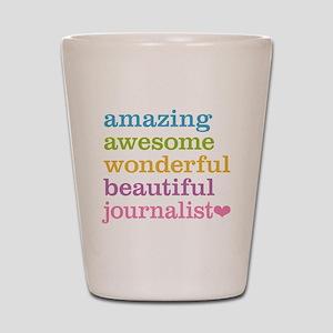 Awesome Journalist Shot Glass