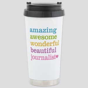 Awesome Journalist Stainless Steel Travel Mug