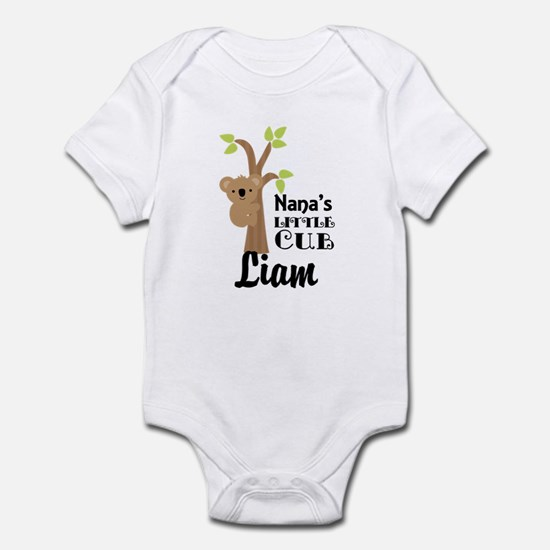 Personalized Nana gift for Grandchild Body Suit