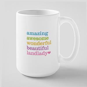 Awesome Landlady Large Mug