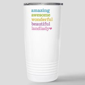 Awesome Landlady Stainless Steel Travel Mug